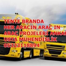 TENTE-KAMYONET KAMYON ARAÇ PROJESİ-ANKARA..